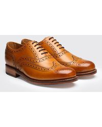 Grenson Stanley Calf Brogue Shoes