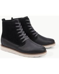 Pointer - Caine Nubuck Leather Boots - Lyst