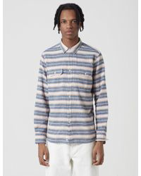 Penfield - Hammat Indigo Stripe Shirt - Lyst