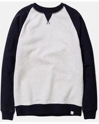 Norse Projects - Ketel Contrast Sweatshirt - Lyst