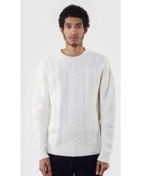 Edwin - United Knit Jumper - Lyst
