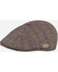 Kangol - 507 Herringbone Flat Cap - Lyst