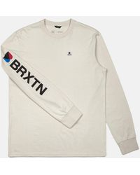 Brixton - Stowell Long Sleeve T-shirt - Lyst