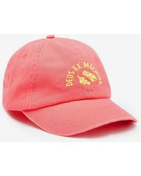 2e2ade07df7 Deus Ex Machina - Temple Snake 6-panel Cap - Lyst