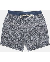 Deus Ex Machina Sandbar Eastern Maze Shorts