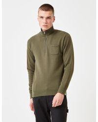Edwin - Warm Up Popover Sweatshirt - Lyst
