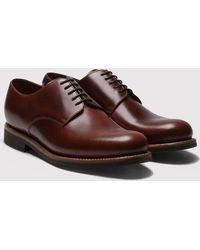 Grenson - Curt Derby Shoes - Lyst