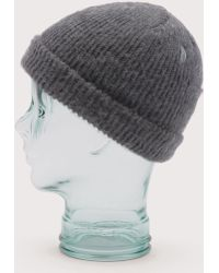 Coal - Coyle Vintage Look Cuffed Beanie Hat - Lyst