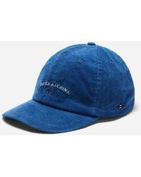 1e1cac59ffecf Lyst - Mollusk Moon Patch Hat in Blue for Men
