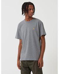 Carhartt - Chase T-shirt - Lyst