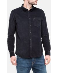 Lee Jeans | Button Down Shirt (micro Cord) | Lyst