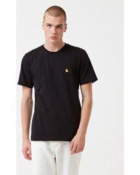 fb974a6e97b Carhartt  emperor  T-shirt in Black for Men - Lyst