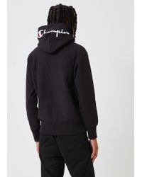 Champion - Reverse Weave Hoodie Sweatshirt Hood Logo - Lyst