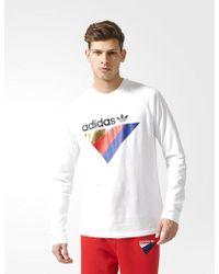 adidas Originals - Adidas Anichkov Long Sleeve T-shirt - Lyst