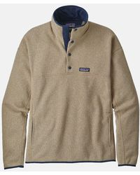 Patagonia Lightweight Better Sweater Marsupial Pullover - Natural