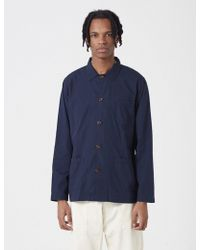 Universal Works | Bakers Overshirt | Lyst