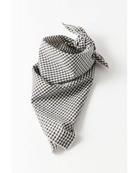 Urban Outfitters | Black And White Bandana | Lyst