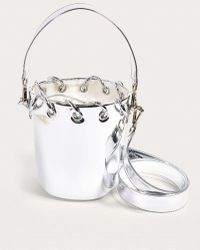 Angel Chen - Silver Mirror Bucket Bag - Womens All - Lyst