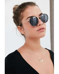 Urban Outfitters - Avery Brow Bar Frame Sunglasses - Lyst