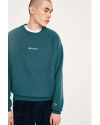 Champion - X Uo Pond Reverse Weave Crew Neck Sweatshirt - Mens S - Lyst