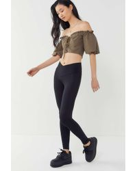 Out From Under - High Shine V-waist Legging - Lyst