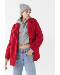 C/meo Collective - World Tour Reversible Sherpa Coat - Lyst
