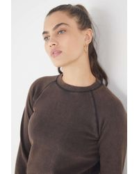3a9e9be25 Urban Outfitters Sparkle Fade Brooklyn Sweatshirt in Gray - Lyst