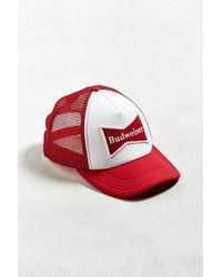 Urban Outfitters - Budweiser Bow Tie Trucker Hat - Lyst