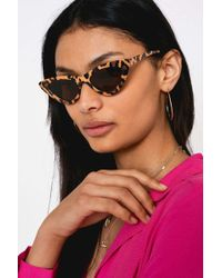Urban Outfitters - Olivia Extreme Cat Eye Sunglasses - Lyst