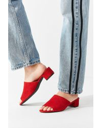 Urban Outfitters - Patti Suede Mule Heel - Lyst