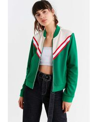 Urban Outfitters - Uo Piper Striped Track Jacket - Lyst