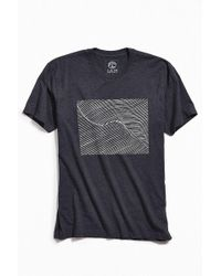 Urban Outfitters - Ian Balding Designs Wave Line Tee - Lyst