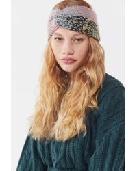 Urban Outfitters - Space Knit Headband - Lyst 3245d43e241b