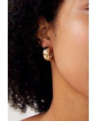 ffb015acbaa24b Urban Outfitters Cleo Chunky Hoop Earring in Metallic - Lyst