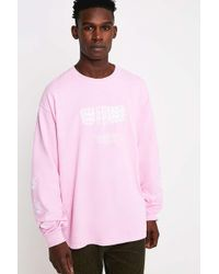 Urban Outfitters - Uo Keep It Strange Pink Long-sleeve T-shirt - Lyst