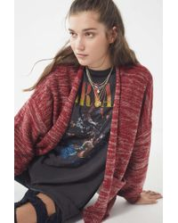Urban Outfitters - Uo Colie Open-front Cardigan - Lyst
