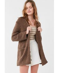 Urban Outfitters | Uo Tahoe Chenille Cardigan | Lyst