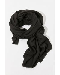 Urban Outfitters - Brushed Woven Blanket Scarf - Lyst