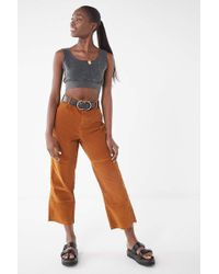 Urban Outfitters - Uo Corduroy Carpenter Trouser Pant - Lyst