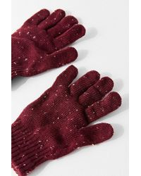 Urban Outfitters - Donegal Knit Tech Glove - Lyst