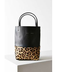 Alice.D - Leopard Bucket Bag - Lyst