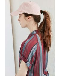 Urban Outfitters - Uo Washed Canvas Baseball Hat - Lyst