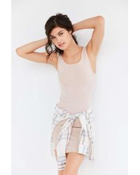 Out From Under - Drop Needle Ballet Back Slip - Lyst