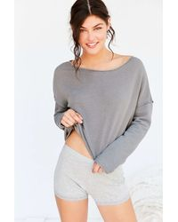 Truly Madly Deeply - Liza Off-the-shoulder Sweatshirt - Lyst