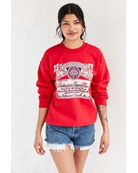 Junk Food - Budweiser Pullover Sweatshirt - Lyst