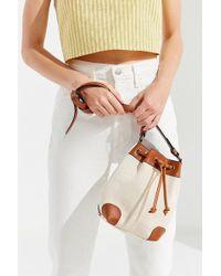 Urban Outfitters - Canvas Crossbody Bucket Bag - Lyst