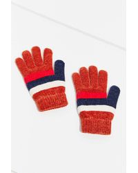 Urban Outfitters - Chenille Striped Glove - Lyst