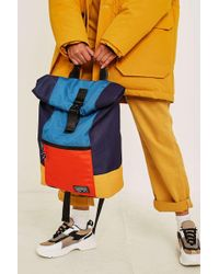 Urban Outfitters - Uo Colourblock Hiking Rolltop Backpack - Womens All - Lyst