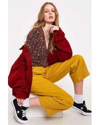 BDG - Wren Yellow Trousers - Womens 30w - Lyst