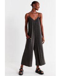 208aafa647b Urban Outfitters - Uo Shapeless Wide-leg Jumpsuit - Lyst